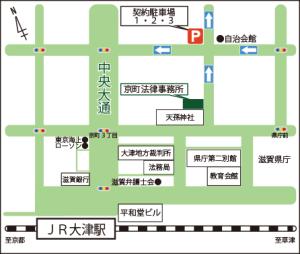京町法律事務所アクセスマップ